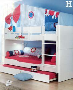 Hochbett Etagenbett Stockbett Doppelstockbett Massivholz Möbel Milan |  Kinderzimmer | Pinterest | Bunk Bed, Kidsroom And Room