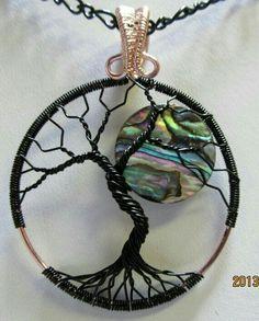 #árbol #luna #piedra