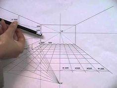 Interior Perspective - Drawing (실내투시도 - 드로잉) - YouTube