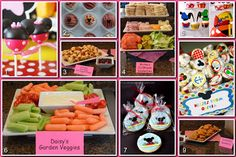 Disney Donna Kay: Disney Party Boards - Mickey Mouse Clubhouse Party