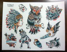Tattoo Flash Art Sheets | Like this item?