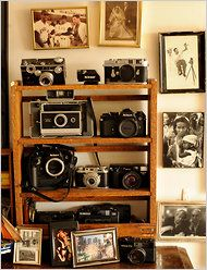 I'd be the one to use vintage cameras as home decor & actually use them.