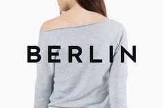 BERLIN - Minimal Typeface + Web Font by Designova on @creativemarket
