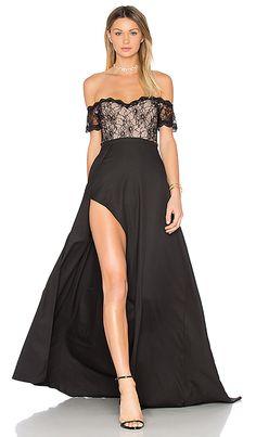 Elle Zeitoune Montana Gown in Black | REVOLVE
