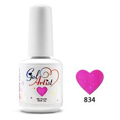 Uv Gel Nail Polish Top Base Coat 6 bottle  gel polish uv nail gel soak-off gel DHL FREE shipping