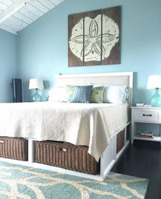 Harbour: Cool, Coastal Interiors | Bedrooms, Coastal and Beach