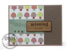 Featured Friday Card Maker, Jill B., Houston, TX I think this is super cute and versatile layout!