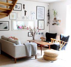 salon moderne avec déco scandinave et mobilier super