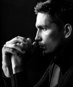 Jim Caviezel who played Jesus in the Passion of the Christ...very handsome man :) :)