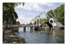 I never get bored taking photos of the Lange Vecht Brug (long bridge on the river Vecht)