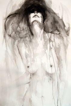 "Saatchi Art Artist Fiona Maclean; Painting, ""Diana"" #art"