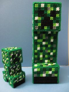 Minecraft Creepers made by Jacob