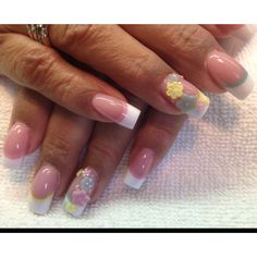 Acrylic nails by Celeste Young