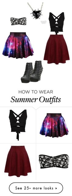 """party outfits  mix and match"" by batty-belle on Polyvore featuring Proenza Schouler, Alexander McQueen, Bettie Page, women's clothing, women's fashion, women, female, woman, misses and juniors"