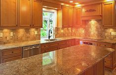 Beautiful tile pattern by JLG Floors & More in this kitchen. #housetrends http://www.housetrends.com/specialist/JLG-Floors-More