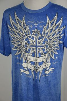 Armpit to Armpit - Length - Mens Xl, Workout Shirts, Graphic Tees, Wings, Sleeve, Fitness, Mens Tops, Cotton, Manga
