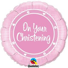 On Your Christening Foil Balloon 18""