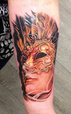 Tattoo Artist - Augis Tattoo - mask tattoo