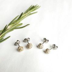 Braided studs https://www.etsy.com/listing/213137503/petite-braided-stud-earrings