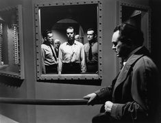 Double Indemnity - This execution scene was shot, but not used in the film.