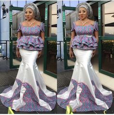 Most Beautiful Ankara Aso Ebi Styles for Cute Ladies : Skirt and Blouse.Most Beautiful Ankara Aso Ebi Styles for Cute Ladies : Skirt and Blouse African Fashion Ankara, Latest African Fashion Dresses, African Inspired Fashion, African Dresses For Women, African Print Dresses, African Print Fashion, Africa Fashion, African Attire, African Wear