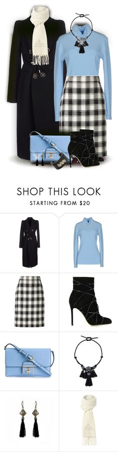 """Skirt & Ankle Boots"" by franceseattle ❤ liked on Polyvore featuring Dsquared2, Blumarine, Pierre Cardin, Gianvito Rossi, Dolce&Gabbana, Lanvin and Vivienne Westwood"
