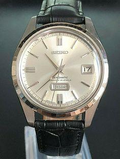 Check it's amazing! - 37mm . VERY NICE VINTAGE 1966 SEIKO SEIKOMATIC 26J. AUTOMATIC 6206-8100 Seiko, It's Amazing, Nice, Watches, Check, Ebay, Vintage, Wristwatches, Clocks