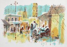 Shmuel Katz Israeli Artist ~ Blog of an Art Admirer