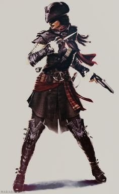 Assassin's Creed III: Liberation Concept Art // Aveline de Grandpré