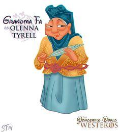 Mulán - Princesas Disney como personajes de 'Juego de Tronos'