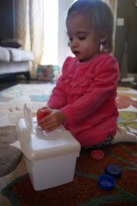 DIY toddler toy