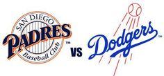 6/22/13   Padres vs LA Dodgers game with Kim & Lance