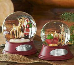 Classic Snow Globes