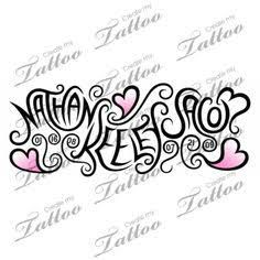 Bilderesultat for children's names tattoos for women