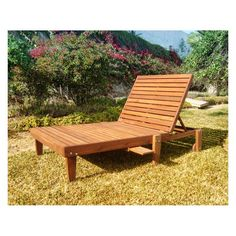 Outdoor Best Redwood Wide Summer Chaise Lounge - CLSMWB-AW1905