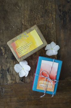 DIY | Handmade Lavender Soap for Father's Day or Teacher Gift | little monster
