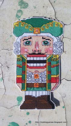 cross-stitch, my design, The Nutcracker