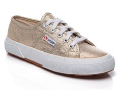 On the waitlist... sigh.   Superga Metallic Sneakers from Veronica Webb on OpenSky