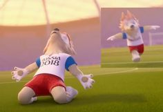 World Cup 2018 mascot all video #mascot2016 #wolfmascot #Zabivaka
