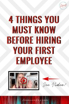 This features tips to guide you in hiring your first employee. Click the photo t.,This features tips to guide you in hiring your first employee. Click the photo to know more. Business Names, Business Tips, Online Business, Online Entrepreneur, Business Entrepreneur, Make Money From Home, Way To Make Money, Hiring Employees, Hiring Process