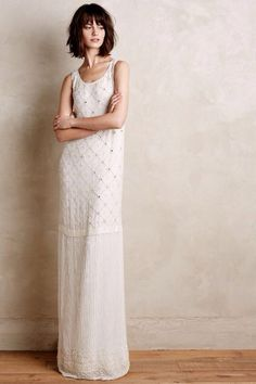 Astralis gown- Anthropologie