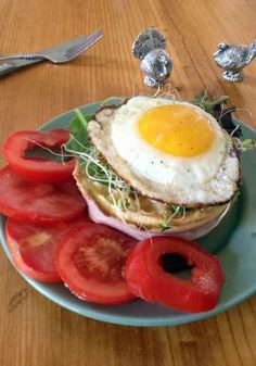 Start your day off right with a delicious open-faced sandwich with this savory and delicious Egg Over My Eggo recipe, courtesy of Darcy Yates. Eggo Waffles, Pancakes, What's For Breakfast, Breakfast Recipes, Healthy Life, Healthy Living, Open Faced Sandwich, Sliced Turkey, Kid Stuff