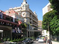 Monaco streets, France