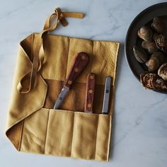Leather Knife Wrap | 21 Cute Kitchen Gifts You Probably Don't Need