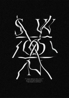 Swoon by Sean Leonard, via TypeThrough