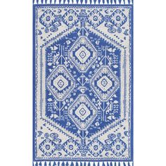NuLOOM Flatweave Noreen Area Rug Blue 8' X 10' By (350 CAD) ❤ liked on Polyvore featuring home, rugs, nuloom area rugs, nuloom, nuloom rugs, flat weave rug and blue area rugs