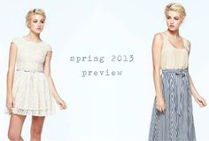 first look! paper crown spring 2013 collection