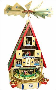 Large German Pyramid German Christmas Pyramid Old World Christmas German Christmas Markets Christmas