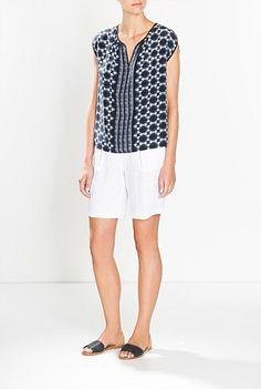 Pd Linen Twill Short Spring 2015, Summer 2015, Bermuda Shorts, Women Wear, Clothes, Fashion, Outfits, Moda, Clothing