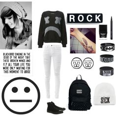 """Untitled #90"" by aripunk on Polyvore"